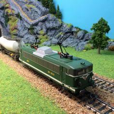 #locomotive #electrique #PICO échelle #HO #SNCF BB8634. A retrouver très prochainement sur le http://www.latelierdutrain.com