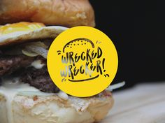 Visual branding for a food brand at Malang, Indonesia called Wrecked Wrecker. At first, they are focusing on burger so I made the logo with logotype + symbol of burger cause i think it will be easy for people to recognise. but after that they are added so…