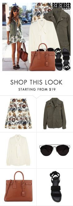 """""""2596. Blogger Style: Sincerely, Jules"""" by chocolatepumma ❤ liked on Polyvore featuring Oris, Topshop, Miu Miu, Yves Saint Laurent and Paul Andrew"""