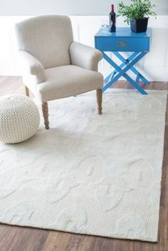 $5 Off when you share! Elegance Cotton and Wool Trellis VST23 Lt Grey Rug | Contemporary Rugs #RugsUSA