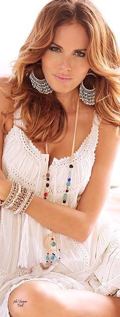 bohemian boho style hippy gypsy fashion indie folk free people hippie dress peace rustic boho goodvibes ethnic free spirit vintage chic crochet lace jewelry