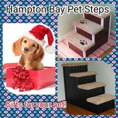 Hampton Bay Pet Steps, Gifts For Your Pets #dogstairs #shopsmall