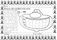 Mi grimorio escolar: SEMANA DEL CEPILLADO DE LOS DIENTES