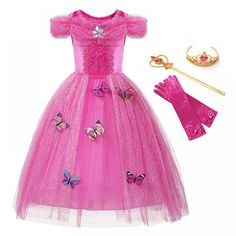 Mother & Kids Muababy 2-14t Summer Floral Girl Dress Sleeveless Flower Princess Party Costume Children Knee Length Wedding Gown Teens Clothing Refreshment Dresses