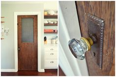 I want to replace all our interior doors with vintage wooden ones. So lovely.