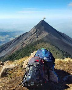 Volcán Acatenango #Guatemala