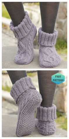You'll love these Ladies Knitted Slipper Boots Patterns and they are easy to make and look great. Check out the cute collection of Free Patterns now. Top 10 Most Adorable Baby Hats – FREE KNITTING PATTERNS Knit Slippers Free Pattern, Knit Headband Pattern, Knitted Slippers, Free Crochet Slipper Patterns, Crochet Slipper Boots, Slipper Socks, Easy Knitting Patterns, Knitting Projects, Knitting Blogs