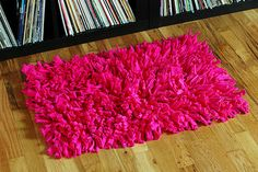 T-shirt rugs - Fun T-shirt crafts