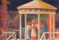 Présentation au temple, vers 1434-1435, Paolo Uccello, Prato, Dôme