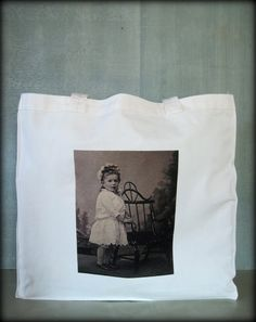Tintype Tote  Bent Wood Chair by ScarlettSlipper on Etsy