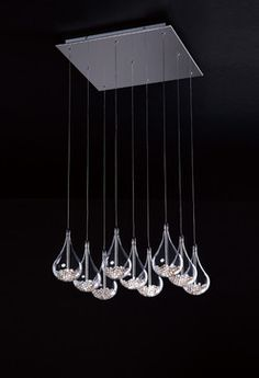 K439109 - contemporary - chandeliers - other metro - Illuminations