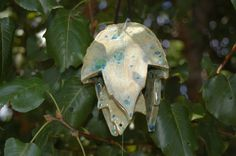 "Sounds of Spring ""Fantasia"" Handcrafted Ceramic Wind Bell 