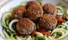 Black Bean 'Meatballs'....I will definitely make these ahead and freeze them for quick dinners or even meatball subs!