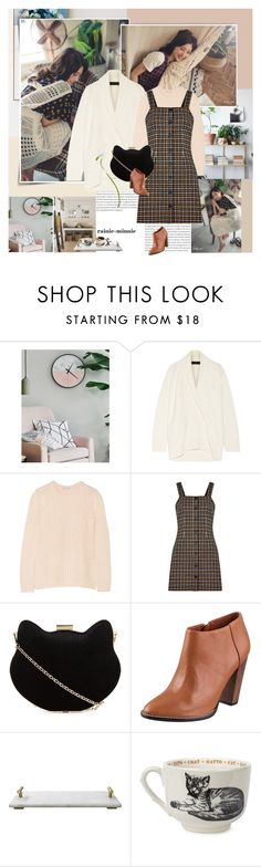 """Sunday.."" by rainie-minnie ❤ liked on Polyvore featuring Oris, The Elder Statesman, Autumn Cashmere, New Look, Elizabeth and James, Jamie Young and Sir/Madam"