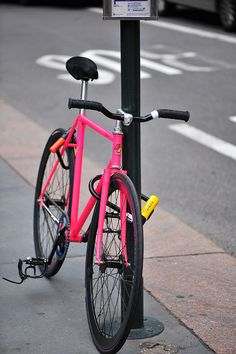 SEEN ON THE STREET: radiation pink Samson, via Flickr.