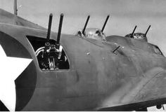 """The second production B-17F-1 was converted into the first  YB-40  Prototype. The  development of the Lockheed – Vega built XB-YB-40 ,was the Army Air Forces attempt to bring additional defensive firepower to the bomber formations flying against the German Luftwaffe fighters.The X in XB   was used  for"""" EXPERIMENTAL"""" and the  Y  in YB  signified """" SERVICE TEST """".They were rushed into combat in May, 1943 with the  92ndBG at ALCONBURY."""