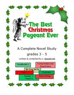 best christmas pageant ever unit - The Best Christmas Pageant Ever Summary