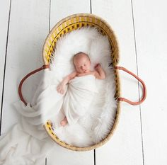 Plum+Sparrow Moses Basket Giveaway ($185 shop credit)