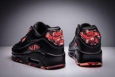 c38d506bffe Tênis Nike Air Max 90 Feminino Floral - Só Na Netshoes