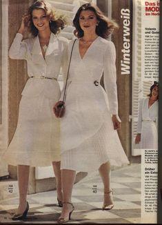 1980 White Dresses