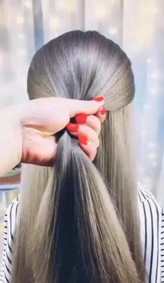 Easy Hairstyles For Long Hair, Hairstyles For School, Braided Hairstyles, Step By Step Hairstyles, Wedding Hairstyles, Beautiful Hairstyles, Party Hairstyles, Hairstyles Haircuts, Beach Hairstyles