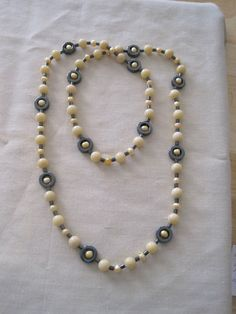 Yellow Jade and Yellow Freshwater Pearls with Hematite by JeNanS13, $38.00