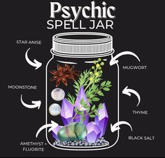 Witch Spell Book, Witchcraft Spell Books, Wicca Witchcraft, Magick, Wiccan Magic, Magic Spells, Wicca Recipes, Jar Spells, Witch Bottles