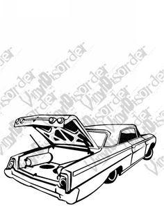 653 best lowriders images in 2019 low low car tuning custom cars Pontiac GTO 64 impala hydrolics lowrider low rider car vinyl decal car window stickers 07 car window stickers