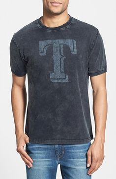Gift Ideas for Men: cool Texas Rangers men's t-shirt.