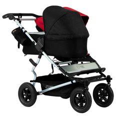 Der Mountain Buggy Duet  Kinderwagen ermöglicht auch mit Geschwistern eine entspannte Fahrt. Für Zwillinge oder Geschwister geeignet