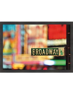 Broadway...take my daughter to see a play or even better watch her perform on stage.....