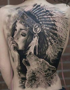 new school sparrow tattoo, unique back tattoos for women, tattoos for mens arms designs - Tattoo MAG Native American Tattoos, Native Tattoos, Wolf Tattoos, Star Tattoos, Body Art Tattoos, Sleeve Tattoos, Symbol Tattoos, Flame Tattoos, Wiccan Tattoos