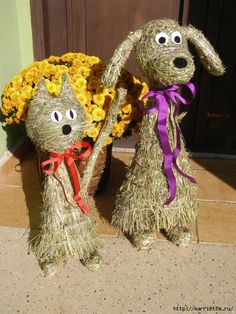 фигурки из сена и соломы (35) (473x630, 322Kb) Rubrics, Projects To Try, Teddy Bear, Diy Crafts, Holiday Decor, Spring, Gardens, Hay, Animaux