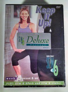 NEW! Debbie Siebers Slim in 6 Series Deluxe Package 4 DVDs  Beach Body Free Ship