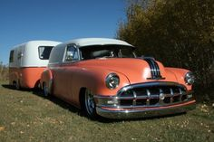 1950 Pontiac Sedan Delivery w/Matching Boler Trailer