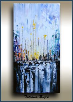 24 Original Abstract Painting  thick texture art by studiomosaic