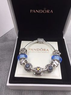 Now available in our store: pandora charm bra...check it out here! http://www.charmsilvers.com/products/pandora-charm-bracelet-with-9-pcs-blue-charms?utm_campaign=social_autopilot&utm_source=pin&utm_medium=pin