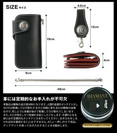 Rakuten: Wallet men gap Dis long wallet leather leather KC,s Kay chinquapin : Riders wallet Bronx- Shopping Japanese products from Japan