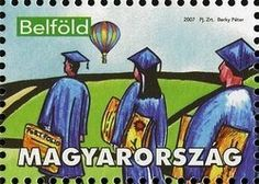 Stamp: School graduation (Hungary) (Your own school graduation stamp) Mi:HU 5164,Yt:HU 4168,WAD:HU033.07