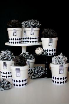 Adventskalender Rautendesign Black & White