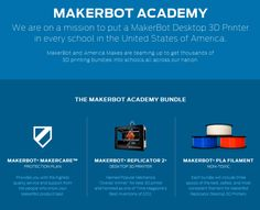 MakerBot Academy aims to put 3D printer in every U.S. school