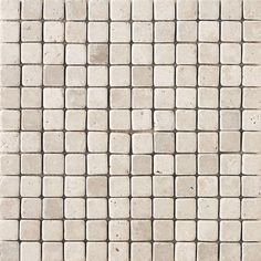 """Travertine Collection Mosaic Floor or Wall Tile 1"""" x 1"""" (10 sq.ft/pkg)"""