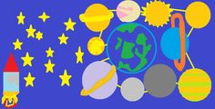 In space On paint by Pablo at 7 years old