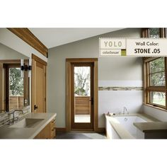 To get this look, use YOLO Colorhouse STONE .05