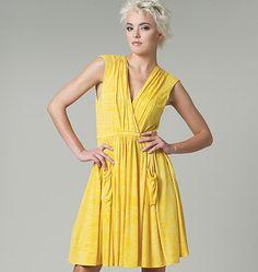 V1225, Misses' Dress