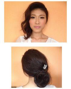 #hair #makeup by me #weddingtrial #hairandmakeup #makeupartist #bride #bridal #wedding #weddingday #weddingphoto  #mua #hmua #weddingdress #ウェディング #ブライダル #ブライド #メイク #メルボルン #海外挙式 #melbournemakeupartist #melbournehairandmakeupartist  #melbournehair