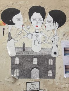 street art in Paris by Fred le Chevalier