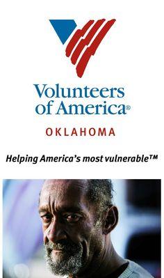 Volunteers Of America Oklahoma Voaok Profile Pinterest
