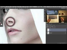 How to Add Skin Texture to a Photo in Photoshop - YouTube