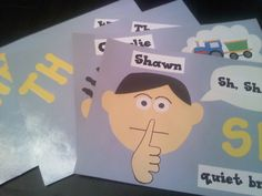 The Digraph Brothers -  ch, sh, th, wh